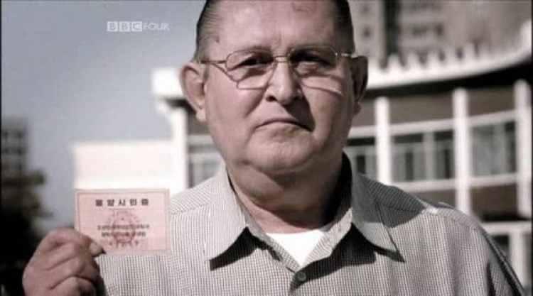James Joseph Dresnok en Pyongyang (BBC/Captura de pantalla)