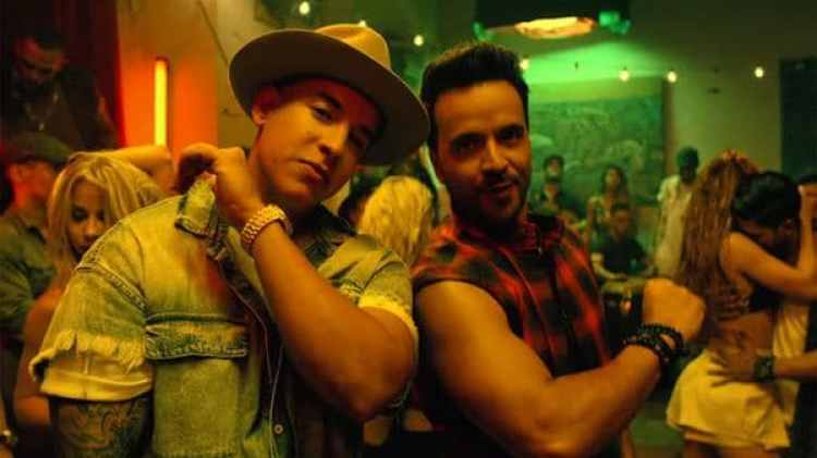 "Luis Fonsi y Daddy Yankee en una captura del video de ""Despacito"" (Universal Music Latin)"