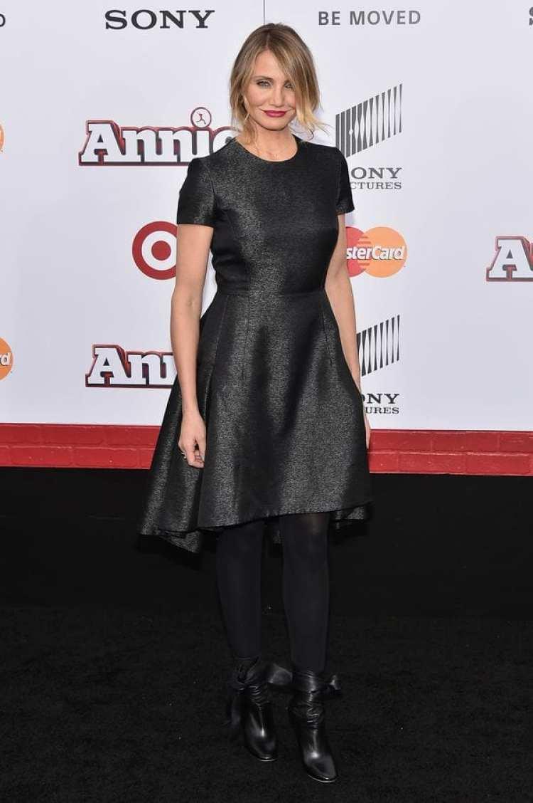 """Cameron Diaz en el estreno de """"Annie"""" en New York City (Getty Images)"""