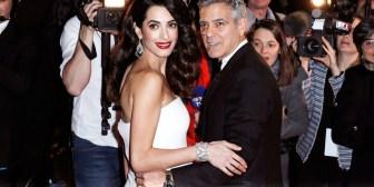 George y Amal Clooney destinan un millón de dólares para combatir el racismo