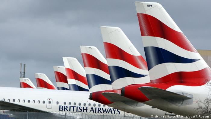 SYMBOLBILD IT-Probleme British Airways streicht alle Flüge in London (picture alliance/PA Wire/dpa/S. Parsons)