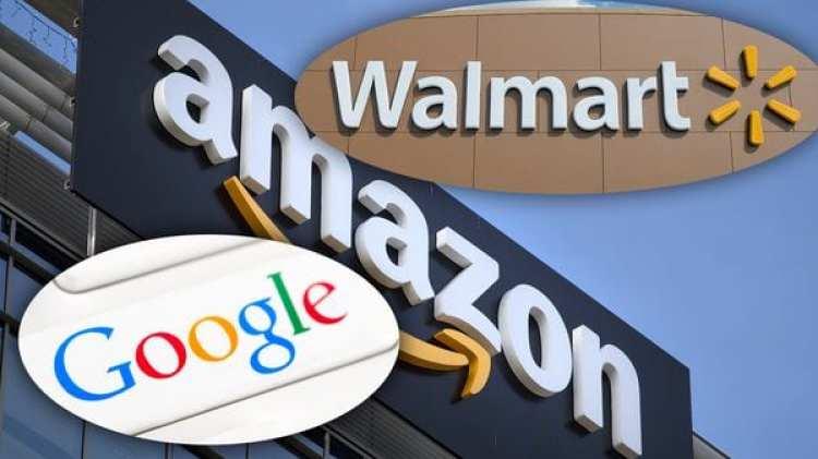 Amazondeberá competir ahora con una alianza entre Walmart y Google (Jaap Arriens/NurPhoto via Getty Images)