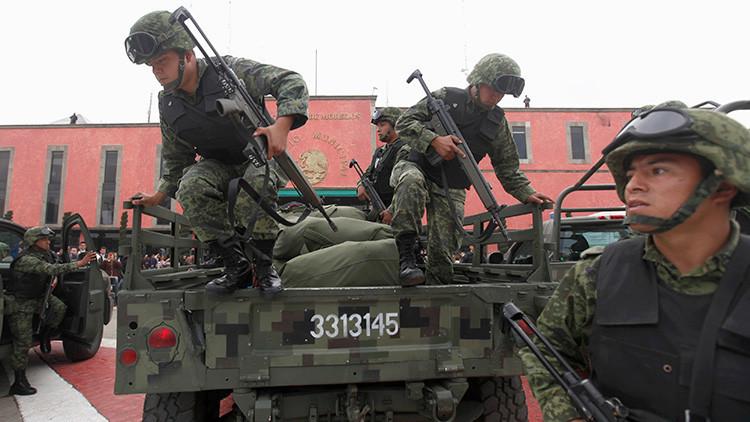 VIDEO: Captan una balacera entre sicarios y la Marina mexicana cerca de la frontera de EE.UU.