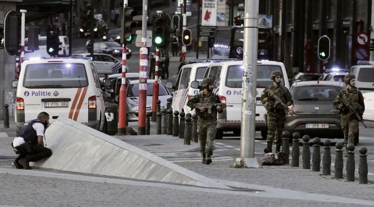 Resultado de imagen de Un hombre es abatido por la Policía belga después de atacar a dos soldados