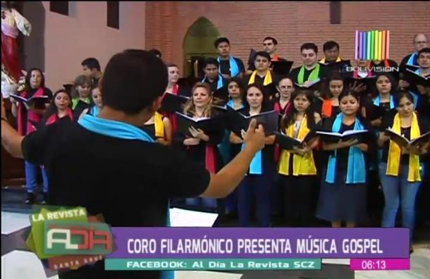 Coro filarmónico presentará música gospel