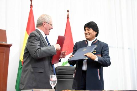 Perú le ofrecerá a Bolivia un puerto para incrementar exportaciones