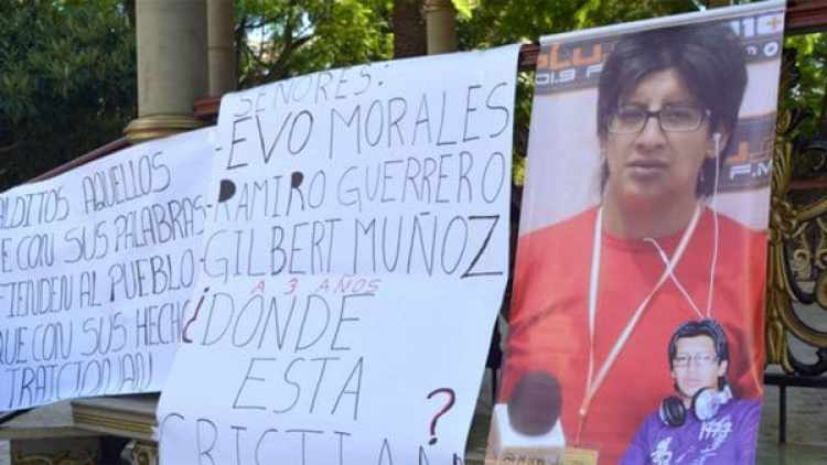 El reclamo de justicia por Mariscal llegó a la presidencia de Bolivia