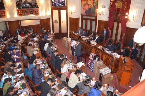 La sesión del Legislativo en la que se selecciona a los candidatos para las elecciones judiciales.