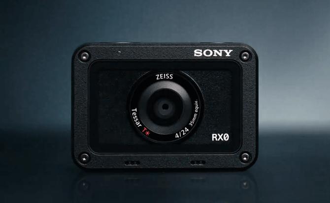 RX0 es la nueva cámara de acción de Sony