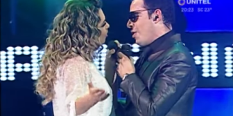 Grisel y Ronico al puro estilo JLo y Marc Anthony