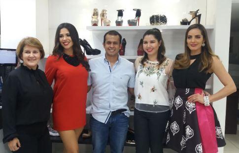 Schirley Sá, Yessica Mouton, Fernando Rojas, María Inés Trigo y Beatriz Baldiviezo