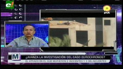 Adhemar Suarez: Nuevos vídeos del atracos a Eurochoronos tienen carácter de prueba