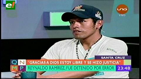 Reynaldo Ramírez comenzó una nueva vida