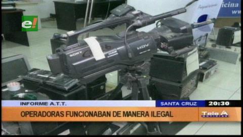 Santa Cruz: La ATT secuestra equipos de seis medios ilegales