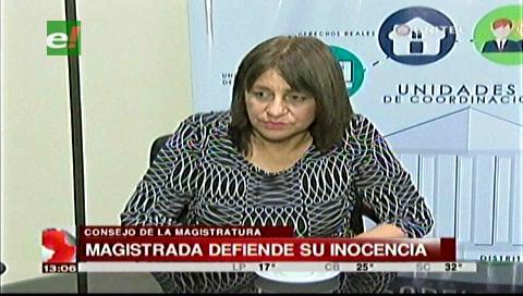 Extorsión a jueces: Magistrada Pérez afirma que está dispuesta a someterse al polígrafo