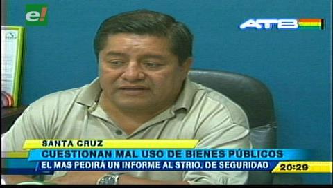Concejal Sanjinéz anuncia una investigación por el uso indebido de camión municipal