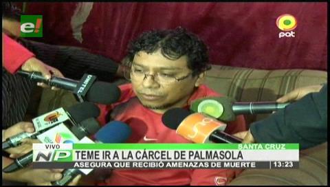 """Administrador de """"Cachinoticias"""" temer ir a Palmasola, fue amenazado de muerte"""