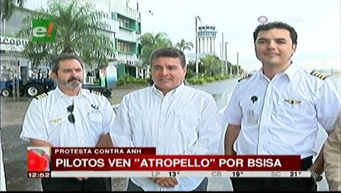 """Pilotos en emergencia por """"atropellos"""" del B-SISA"""