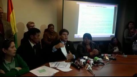 Senador Klinsky denuncia monopolio y sobreprecio en adjudicación del seguro de aeronavegación
