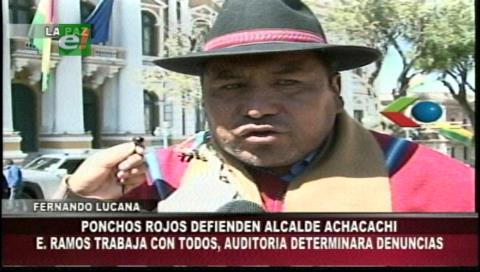 Ponchos Rojos aguardan diálogo para resolver conflicto en Achacachi