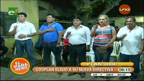 Socios de Cooplan eligieron nueva directiva