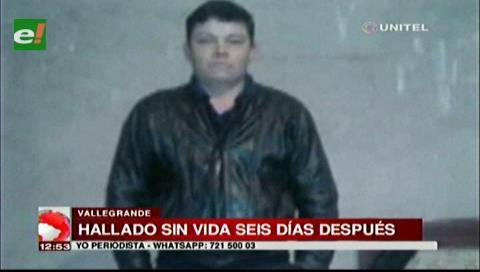 Estaba desaparecido: Hallan a hombre sin vida en la vía a Vallegrande