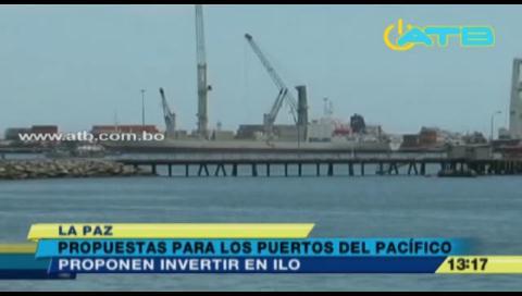 Activistas bolivianos y peruanos proponen invertir en el puerto de Ilo