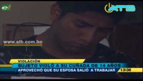 Un hombre violó a su cuñada de 14 años en Cochabamba