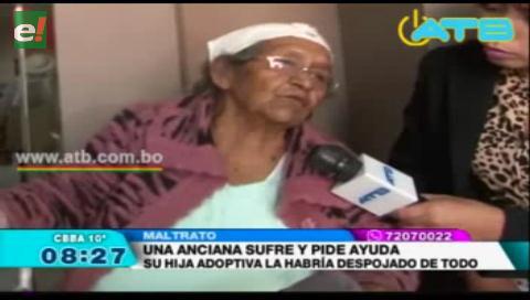 Anciana denuncia malos tratos de su hija adoptiva