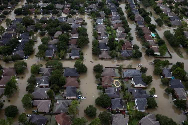 Las impactantes imágenes que dejó el huracán Harvey en Houston(Reuters)