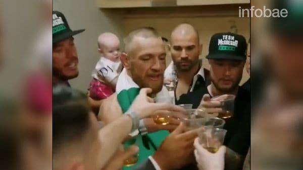 McGregor perdió la pelea del año, pero goza de buenas amistades