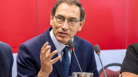 Martín Viscarra, vicepresidente del Perú.