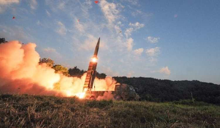 El lanzamiento de misiles de Corea del Sur en respuesta al nuevo ensayo nuclear del régimen de Kim Jong-un (Defense Ministry/Yonhap/via REUTERS)