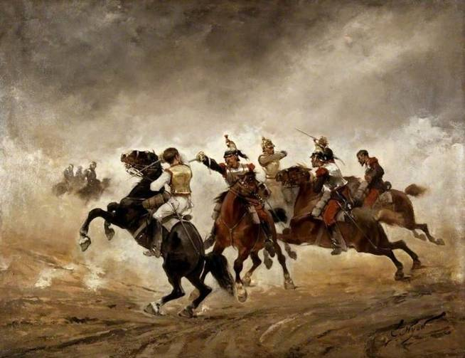 Guerra franco-prusiana. (Wikimedia Commons)