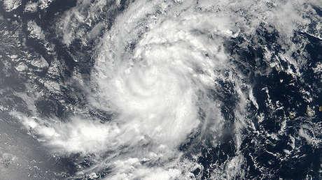 El huracán Irma en el este del océano Atlántico, el 30 de agosto de 2017.
