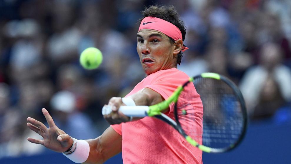 Locomotora Nadal con destino semifinales del US Open