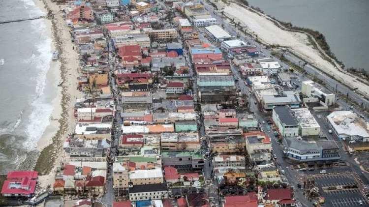 Una vista panorámica de la isla de San Martín (Reuters)