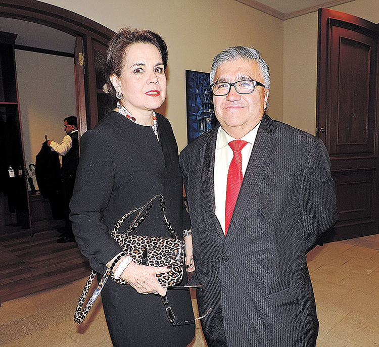 Verónica Ormachea y Julio Alvarado. Foto: Mitsuko Shimose