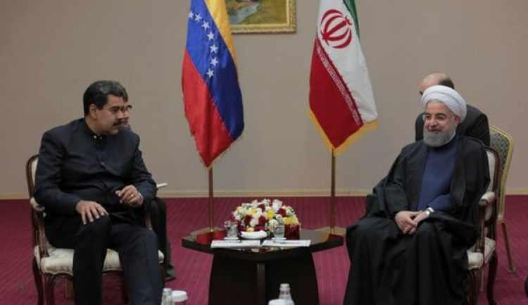Maduro y Rohani, aliados contra Estados Unidos (Reuters)