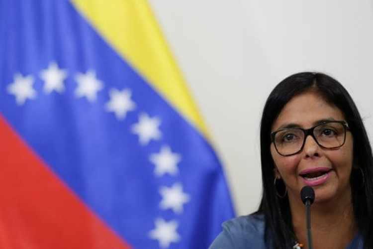 La presidente de la Asamblea Constituyente, Delcy Rodriguez (REUTERS)