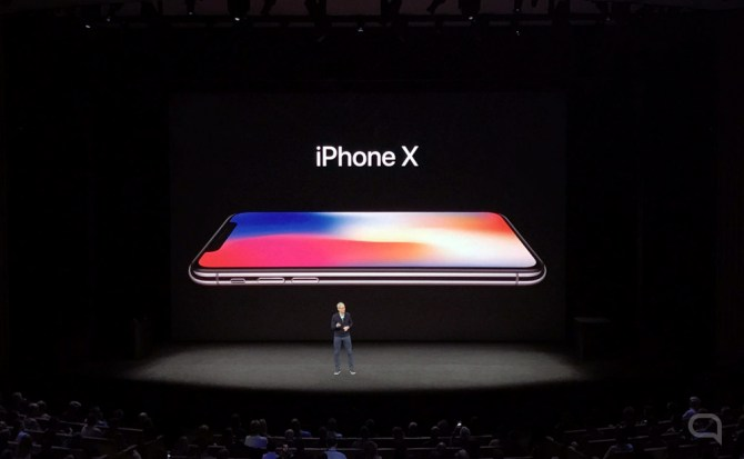 Apple presenta el iPhone X