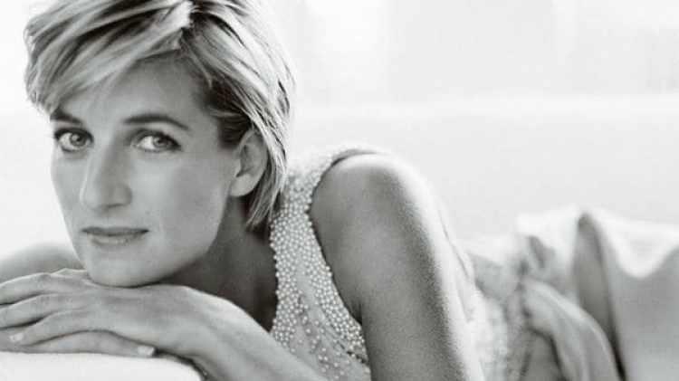 La princesa de Gales Diana Spencer
