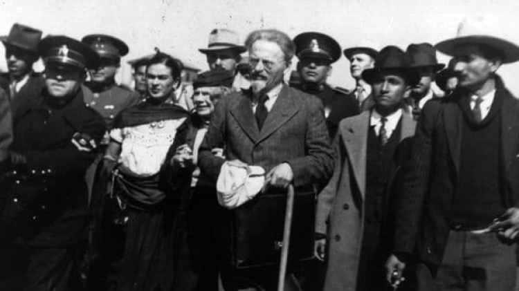 León Trotsky en México (Getty Images)