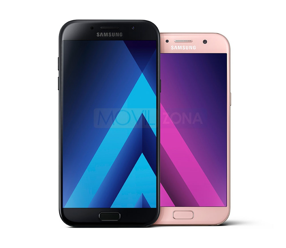 Samsung Galaxy A5 201 de los mejores smartphones de gama media baratos