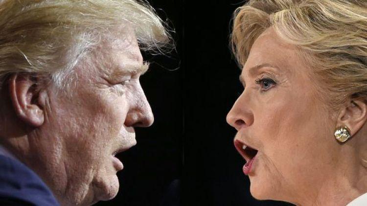 Donald Trump e Hillary Clinton (AFP)