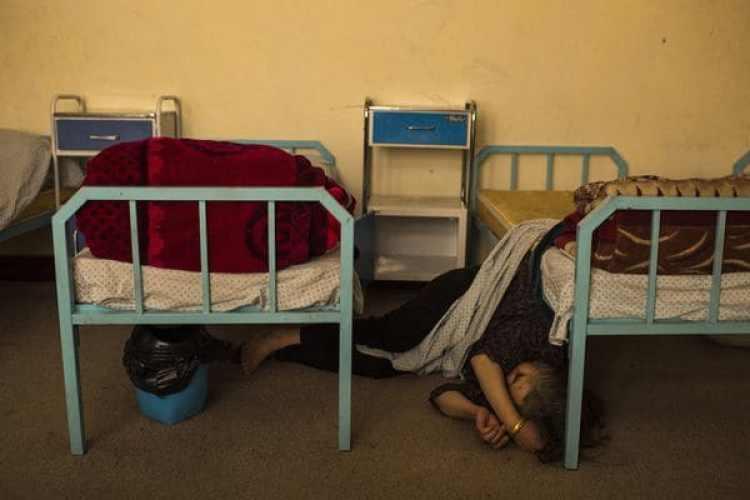 El Centro Nacional para el Tratamiento de la Adicción deMujeres y Niños en Kabul permite que sus pacientes estén ahí durante 45 días sin costo. (Andrew Quilty / The Washington Post)