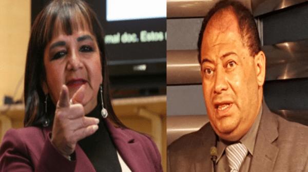 Romero y senadora Gonzales