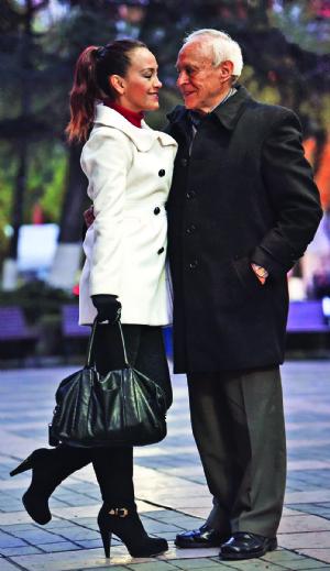 David y Sandra se prometen amor eterno en las tablas
