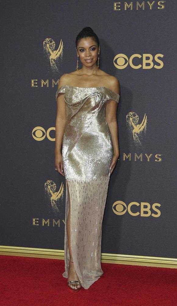 69th Primetime Emmy Awards – Arrivals – Los Angeles, California, U.S., 17/09/2017 - Susan Kelechi Watson. REUTERS/Mike Blake