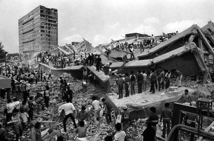 México DF: 19 de septiembre de 1985